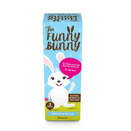 Milk Choc Bunny 105g Easter Allergy Free The Rocky Road House