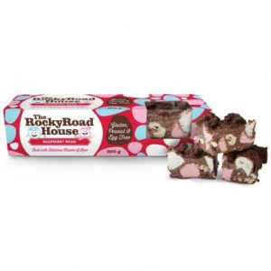 Raspberry Road 200g Bulk Raspberry Rocky Road The Rocky Road House