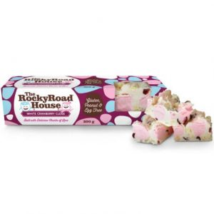 White Cranberry Close 200g Bulk White Chocolate The Rocky Road House